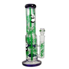 Bong Ice Panda x5 Knob Perco Hand Painted