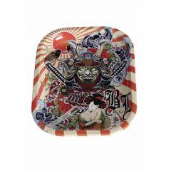 Tava rulat Ronin and Geisha 180x140mm