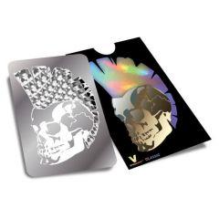 Grinder Card V Syndicate Mohawk Skull