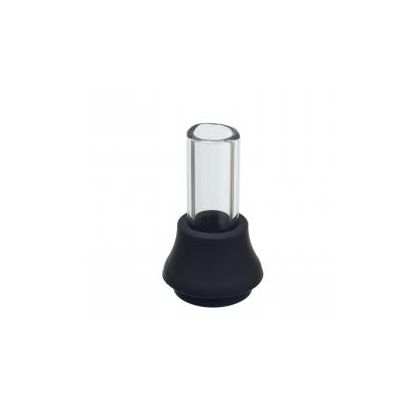 Storm glass mouthpiece