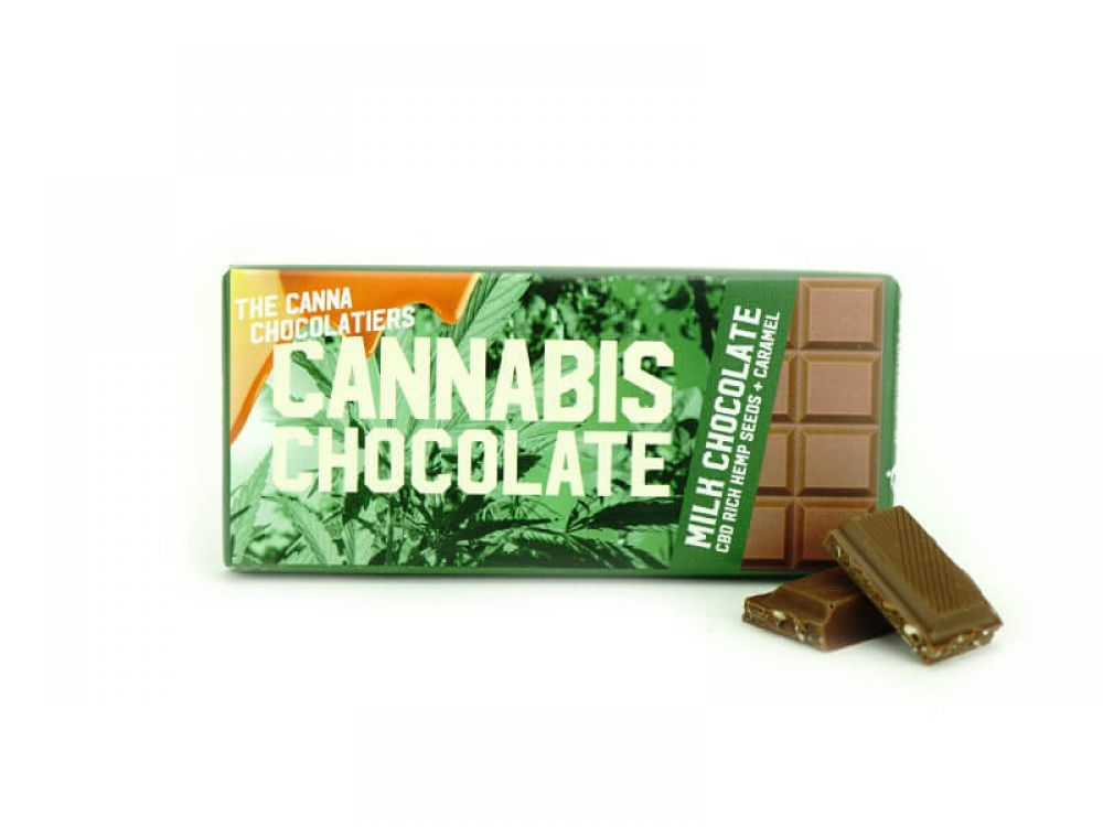 40gr Premium CBD Belgian Chocolate Bar [Sativa]