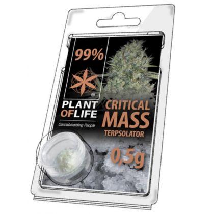 Cristale Terpsolator 'Critical Mass' Concentratie CBD 99% | 500mg