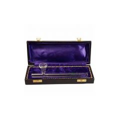 Pipa Black Leaf Wooden Box 200mm